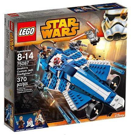 LEGO Star Wars The Clone Wars Anakin's Custom Jedi Starfighter ...