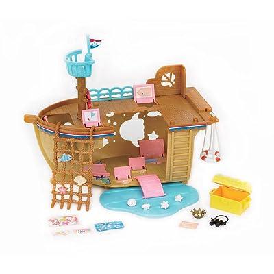 Calico Critters Adventure Treasure Ship: Toys & Games