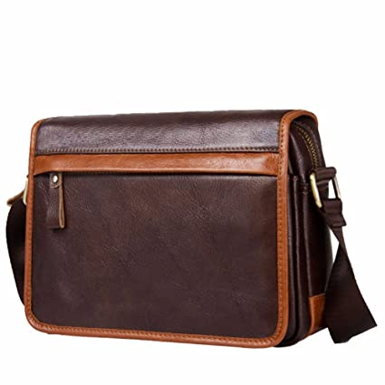 5956e46be0d1 Image Unavailable. Image not available for. Color  NHGY Leather shoulder bag