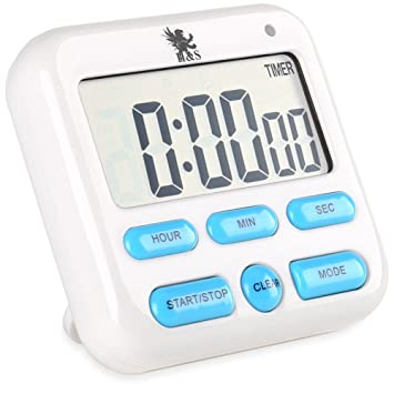 Food Preparation & Tools Kitchen Timers Large Lcd Digital Kitchen Timer Count-Down Up Clock Loud gB