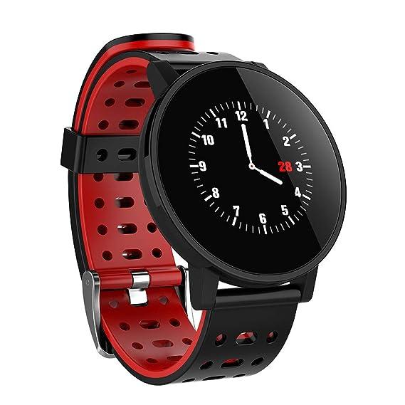 CAOQAO - Reloj Hombre Mujer Moderno diseñado Círculo ...
