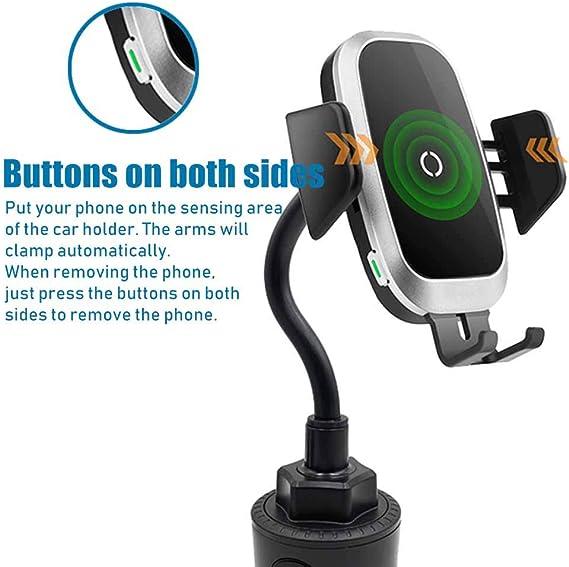 Wireless Charger Auto Getränkehalter Auto Universal Elektronik