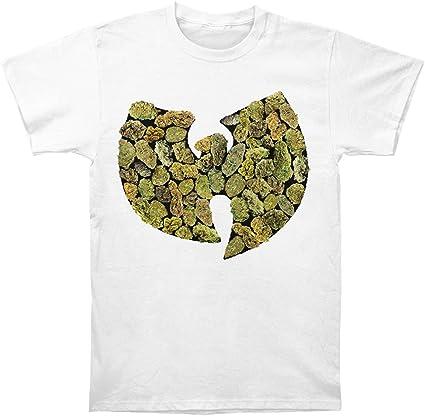 FEA Wu-Tang Clan Pot Leaf Logo Camiseta para Hombre: Amazon.es: Ropa y accesorios