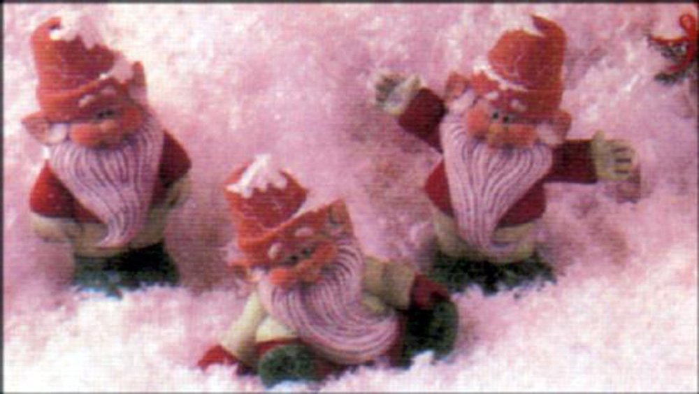 Cracked Pot Gnomes 5'' set of 3 Ceramic Bisque, Ready To Paint