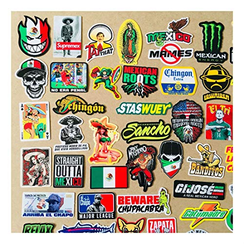 Super Mexican Hard Hat Stickers 82+ Mexico Hardhat Sticker & Decals, Helmet MX by Unknown (Image #6)