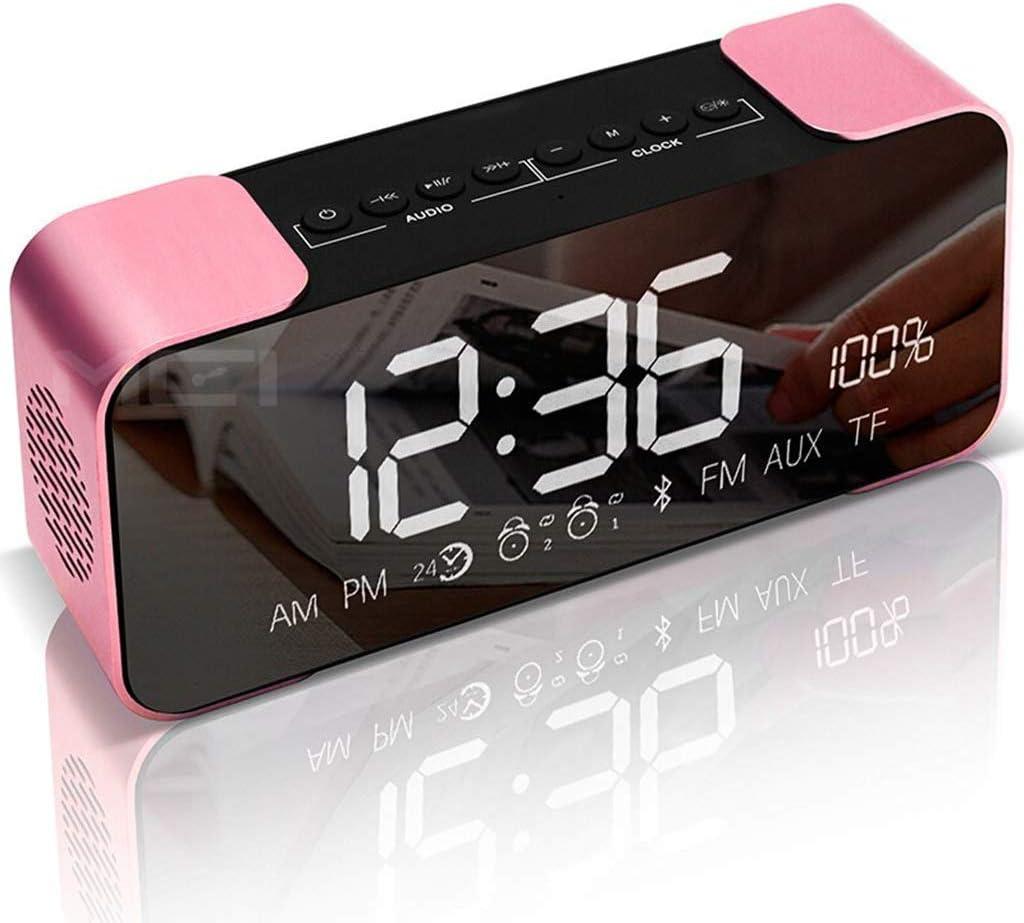Amazon Com Alarm Clock For Kids Bedroom Heavy Sleepers Bedroom Kids Desk Clock Led Large Digital Display Snooze Dimmer Fm Radio Ringtone Music Student Sports Outdoors