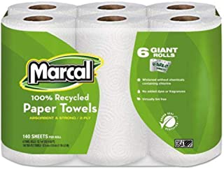 product image for Marcal(R) Select-A-Size Maxi Roll Towels, Pack Of 6 Rolls