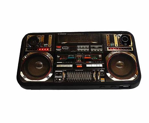 Amazon.com: Boombox Ghetto Blaster – Carcasa para iPhone 4 ...
