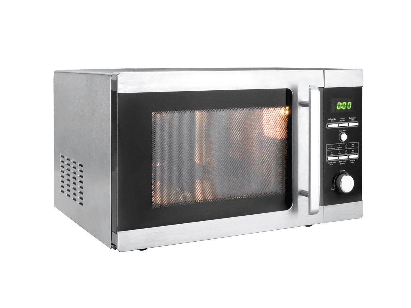 Lacor 69328 - Horno microondas 28lts900w con plato+grill: Amazon.es: Hogar