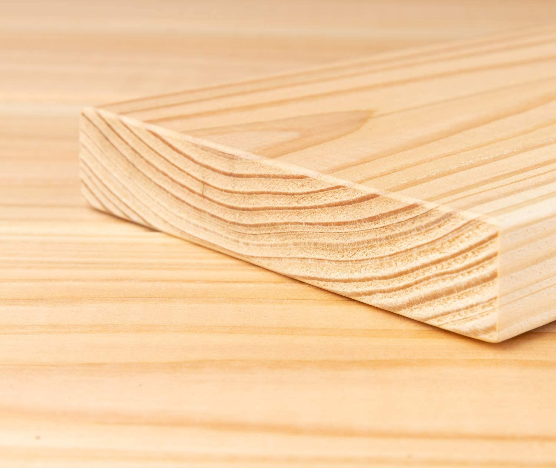 5 m/² I 3,00 m Dielenl/änge HORI/® sibirische L/ärche Terrassendiele Glatt Komplettset Massiv Nadelholz I Bausatz inkl 45 x 70 mm Unterkonstruktion I Fl/äche