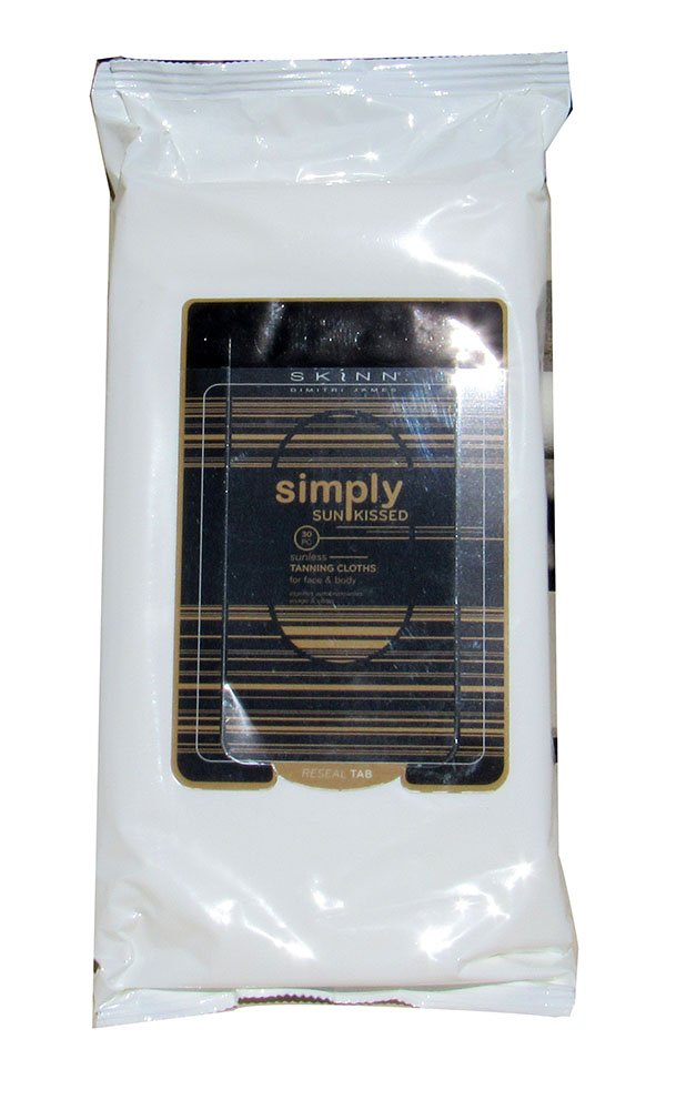 Skinn Simply Sun Kissed Tanning Cloths for Face & Body 30 PC