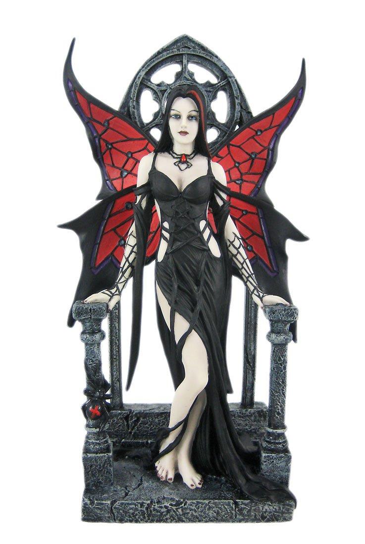 Amazon ARACHNAFARIA Gothic Fairy Statue Anne Stokes Spider Home Kitchen