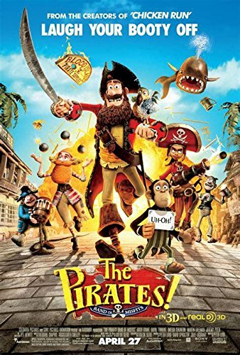 6858294c13739 THE PIRATES! BAND OF MISFITS 2012 ORIGINAL STUDIO RELEASE MOVIE POSTER  27X40 at Amazon s Entertainment Collectibles Store