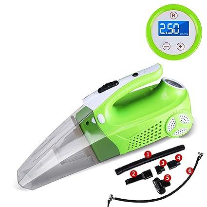 YOTG Bomba de compresor de Aire portátil, aspiradora de Coche LED de iluminación hogar pequeño