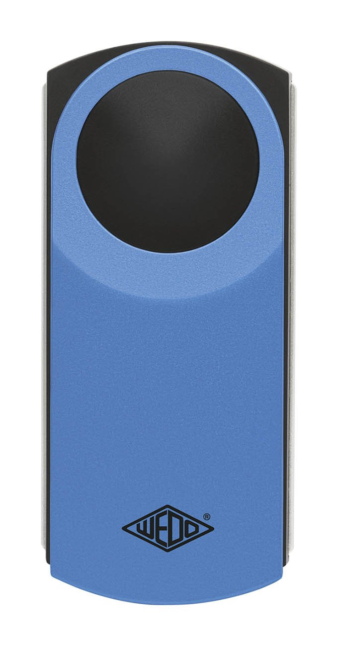Wedo 2717603 Loupe rectangulaire /éclairante Bleu