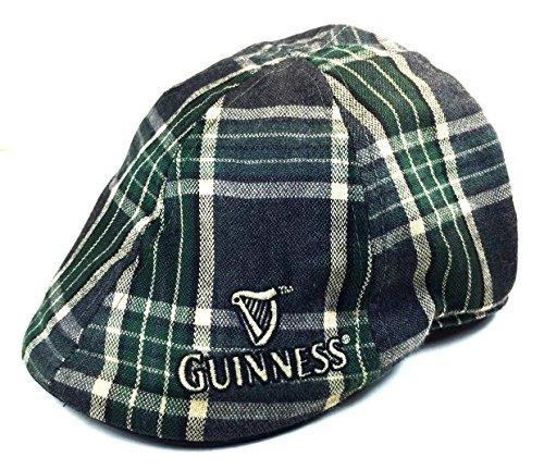 Guinness Harp Logo Plaid Ivy Cap