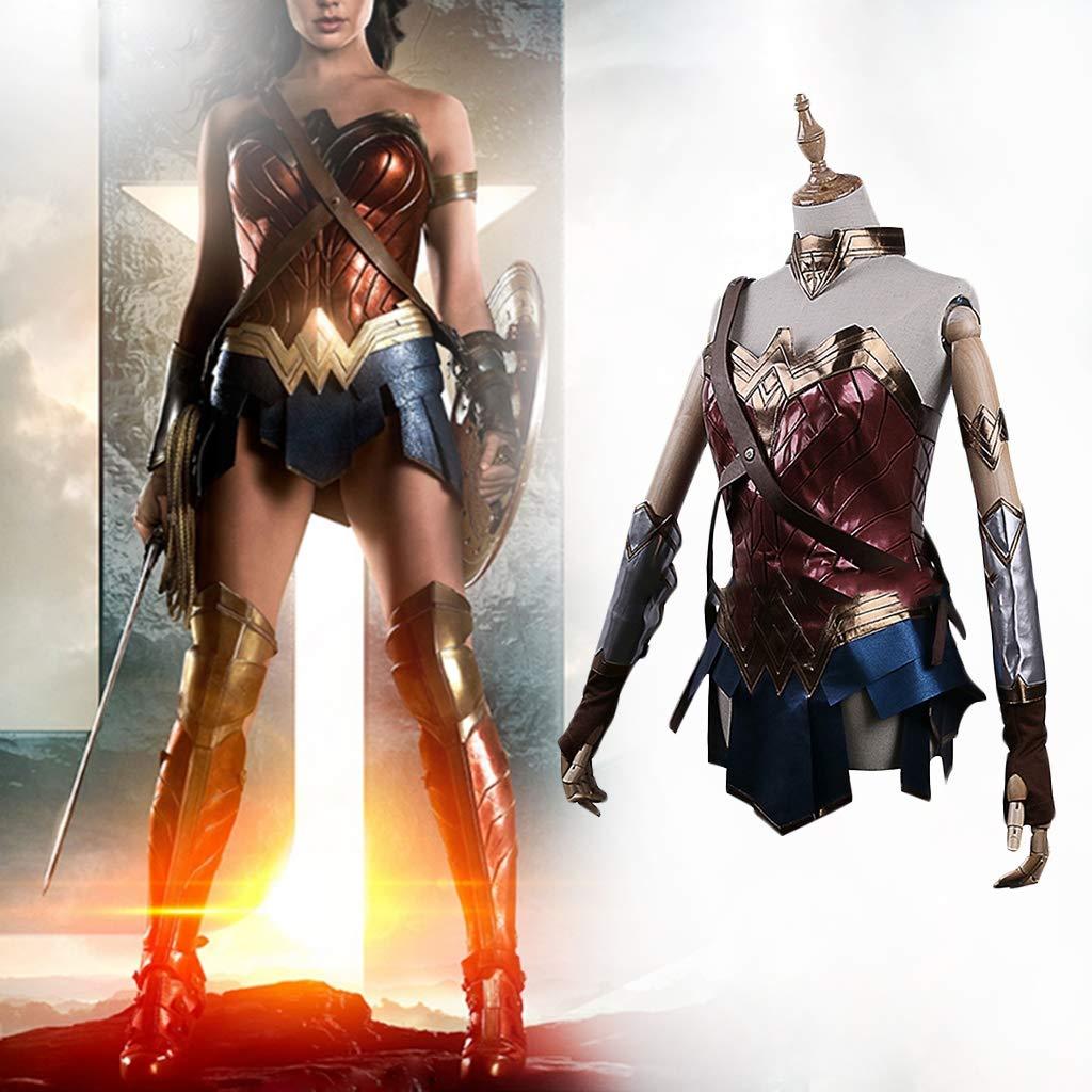 K-Flame Traje de Cosplay para Mujer de Halloween Wonder Woman ...