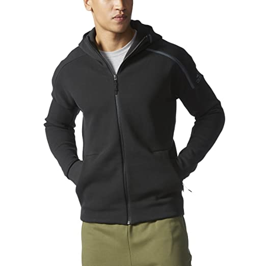 abb984bcb Amazon.com: adidas Men's ZNE Hoodie, Black, Medium: ADIDAS: Clothing