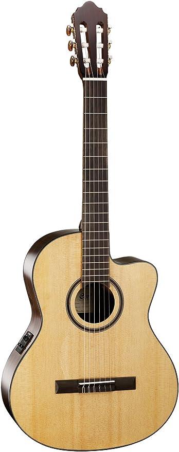 Guitarra clásica CORT AC160CFNAT: Amazon.es: Instrumentos musicales