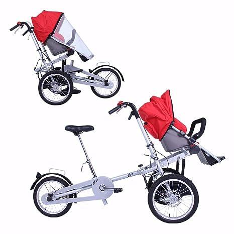Bicicleta carrito bebé (azul): Amazon.es: Bebé