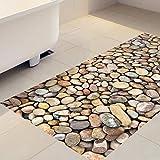 3D (cobbled) to non-slip resistant floor decal (120x60cm)