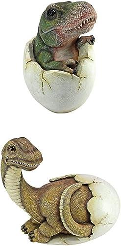 Design Toscano S/2 Baby Dinosaur Eggs