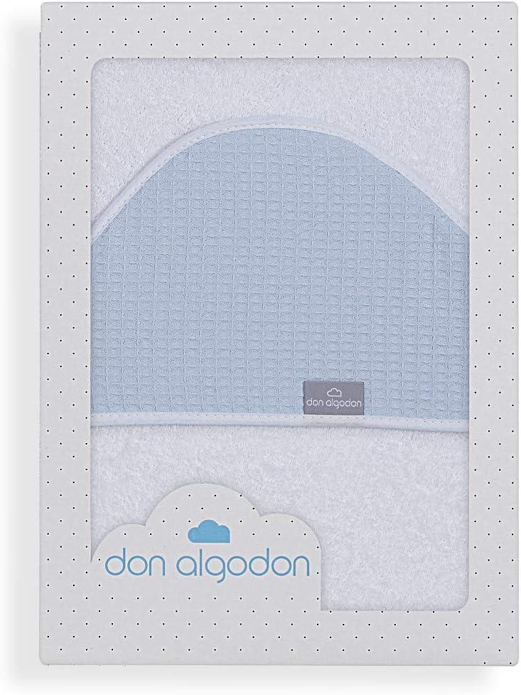 Don Algodón Capa de Baño Astrid Blanco Azul: Amazon.es: Bebé