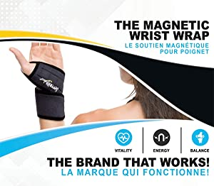 Serenity 2000 Magnetic Therapy Wrist Support Wrap