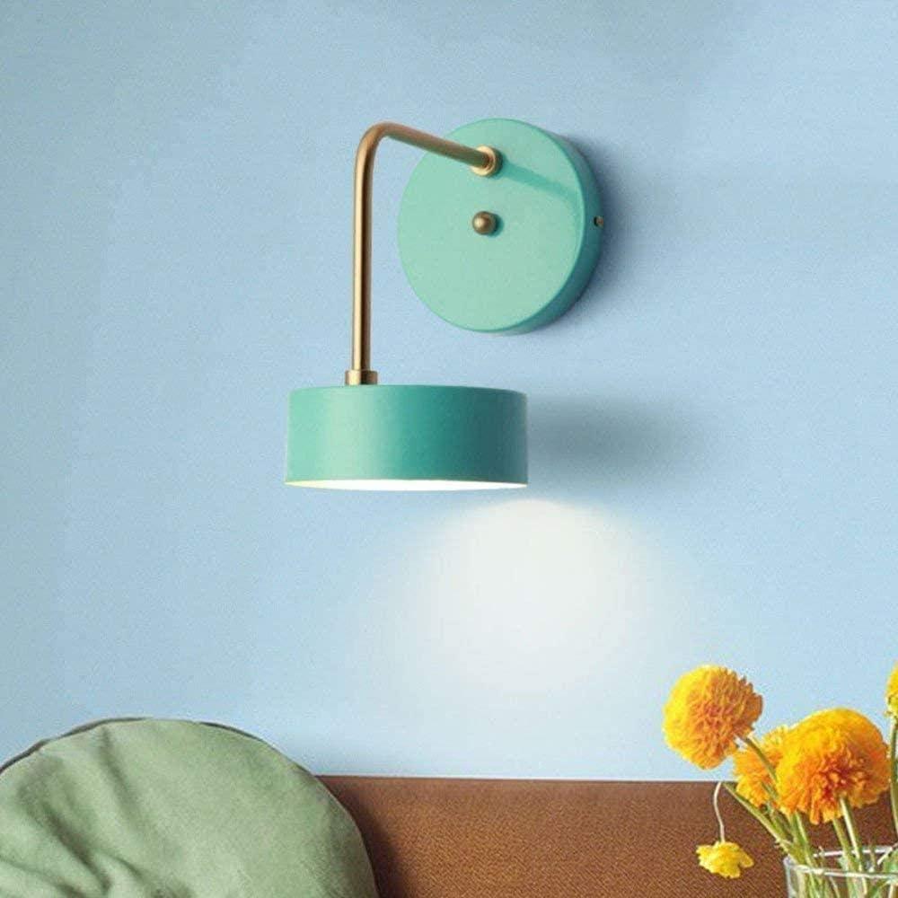 XZHKSP Wandlampe Nordic modern minimalist wall lamp living room wall lamp bedroom bedside lamp European style wall lamp-A B
