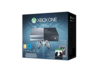 Xbox One 1TB Konsole - Bundle inkl. Halo 5 Limited Edition