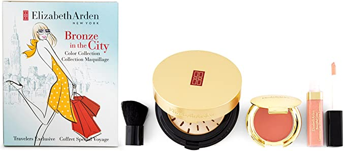 ELIZABETH ARDEN BRONZE IN THE CITY SET MAQUILLAJE: Amazon.es: Belleza