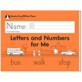 Learning Without Tears - Letters and Numbers for Me Student Workbook, Current Edition - Handwriting Without Tears Series - Ki