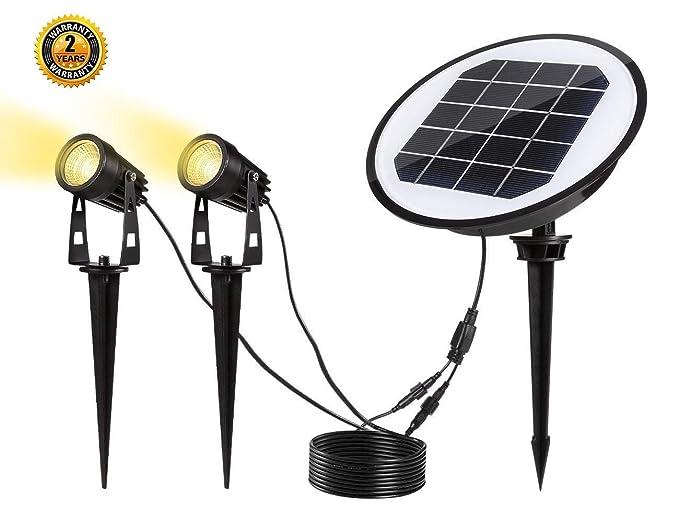 Luci Da Esterno Giardino Solari : Lampada solare giardino lampada da giardino orientabili a