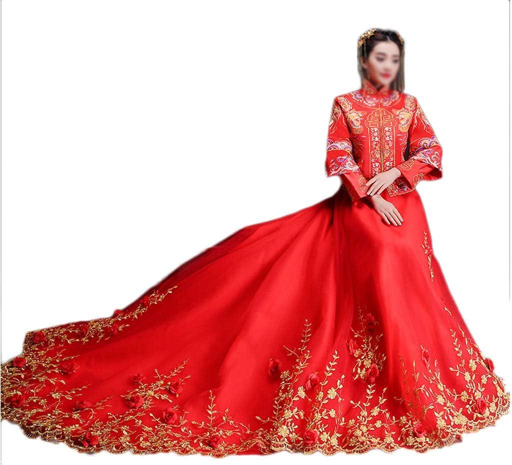 Show Wo Kleidung Braut Brautkleid Chinesisches Hochzeitskleid