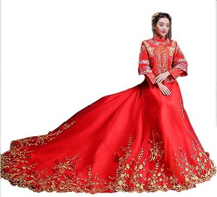 Abiti Da Sposa Cinesi.Show Wo Abbigliamento Sposa Abito Da Sposa Abito Da Sposa Cinese