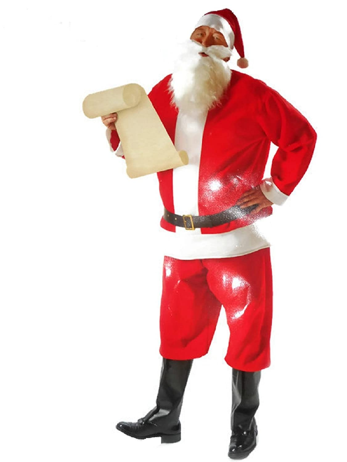 Amazon.com: Red Santa Suit, One Size Fits Most: Clothing