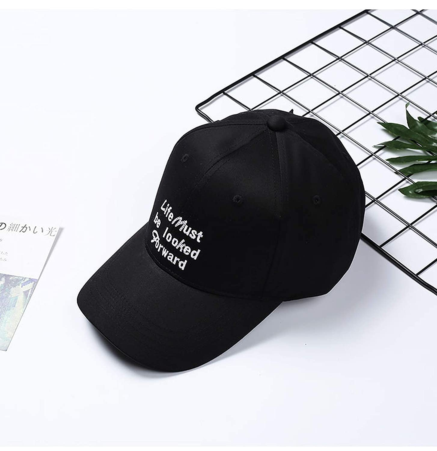 2019 Spring Womens Fashion Baseball Caps Youth Girls Sun Hats with Wide Brim Outdoor Solid Color Casual Caps
