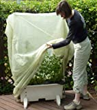 Frost Protek Tall Plant Cover -6' Tall -Drawstring Close -Garden Fabric for Protection and Insulation