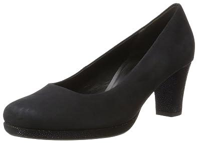 Gabor Shoes Comfort Fashion, Escarpins Femme, Bleu (Pazifik), 38 EU