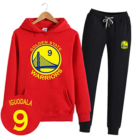 ENTHUSIAST Conjunto De Sudadera con Capucha NBA Golden State ...