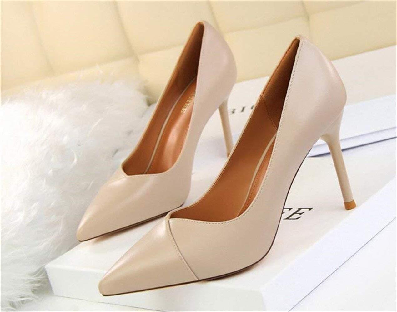 Moontang Court Schuhe High Heels Sandaletten Damen Low Mid Heel Heel Heel Block Peep Toe Damen Knöchelriemen Party Strappy Schuhe, EU37-40 (Farbe   -, Größe   -) 5f08a9