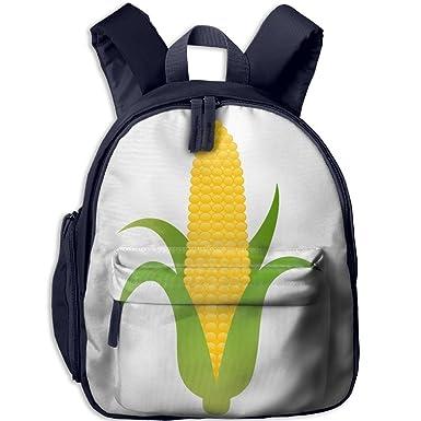 amazon com ear of yellow corn pattern oxford school bag kids