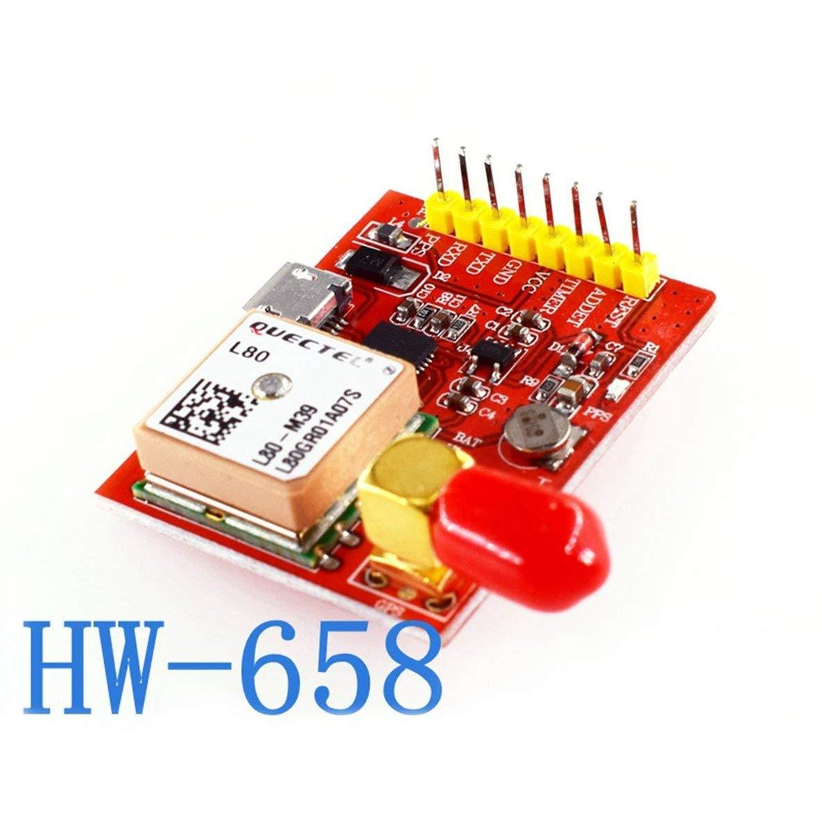 HW-658 gsm/GPRS Molde Módulo GPS USB para Raspberry Pi AB A + B + Zero 2 3 Soporte de protección contra Cortocircuitos Detección aérea: Amazon.es: ...