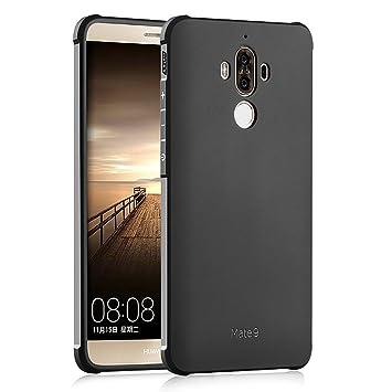 Hevaka Blade Huawei Mate 9 Funda - Suave Silicona TPU Carcasa Smart Case Cover Para Huawei Mate 9 - Negro