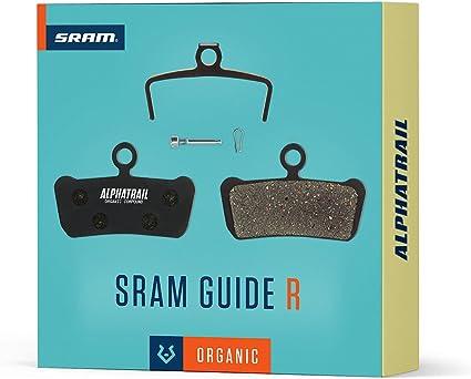 2Paar Ersatz Fahrrad Bremsbeläge für Avid Trail SRAM Guide Scheibenbrems