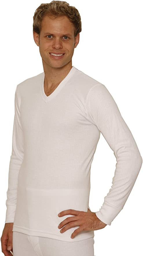 OCTAVE/® British Designed Mens Thermal Underwear Short Sleeve T-Shirt Vest Top