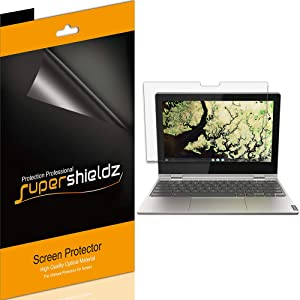 (3 Pack) Supershieldz for Lenovo Chromebook C340 (11 inch) Screen Protector, Anti Glare and Anti Fingerprint (Matte) Shield