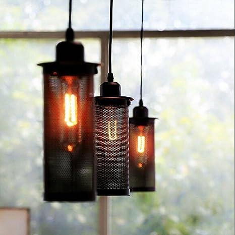 Lámpara de techo de malla de alambre industrial, SUN RUN ...