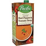 Pacific Foods Organic Creamy Roasted Red Pepper & Tomato Soup, 32oz