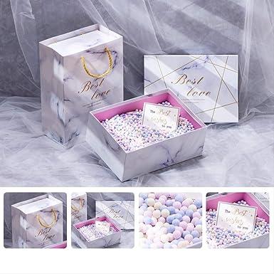Cajas de regalo con tapas Caja grande Dulce Vacío para regalos ...